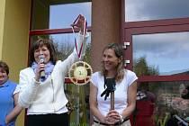 Šárku Grabmüllerovou čekalo ve škole skvělé přivítání.