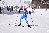 Šumavský skimaraton si užívali i nejmladší závodníci.