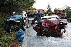Nehoda se smrtelným zraněním v Ostrově u Prachatic.