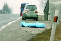 SMRT PO RÁNU. Tragicky zemřel včera ráno chodec na silnici u Dynína na Českobudějovicku. Při přecházení silnice ho srazilo dodávkové auto, muž byl na místě mrtev.