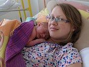 Matěj Krajčo z Radomyšle se narodil v pátek 25. dubna sedm minut před sedmou hodinou ráno v písecké porodnici. Eva a Martin Krajčovi se těší ze syna, který při porodu vážil 3150 gramů a měřil 50 centimetrů. Doma se malého brášky nemohla dočkat sestřička
