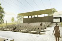 Návrh Letního kina v Prachaticích podle architektů Mimosa.