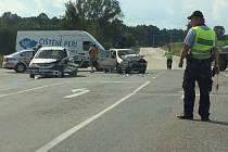 V pátek se u Stopařky stala další nehoda.