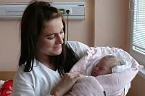 Alexandra Žáková se v prachatické porodnici narodila v úterý 13. října třicet minut po desáté hodině dopolední. Vážila 3350 gramů. Rodiče Andrea a Martin jsou ze Lhenic.