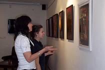 Nově otevřená galerie v Netolicích.