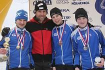 Starší žáci Ski klubu Šumava zajeli výborně.