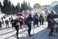 Desetikilometrovou trať klasicky v rámci Kašperské 30 absolvovalo celkem 120 závodníků.