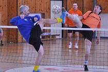 Nohejbalový turnaj ve Zdíkově.