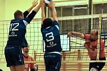 Volejbalisté Netolic porazili Karlovarsko B 3:0 a 3:2.