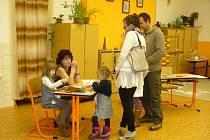 Zápis do Základní školy TGM ve Vimperku.