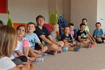 Příměstský tábor v Rodinném centru Sluníčko v Prachaticích.