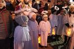 První advent ve Volarech.