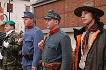 Vimperští si připomněli Den veteránů.