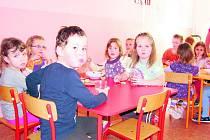 Děti ve volarské školce.