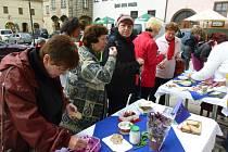 Prachatice umožnily všem zájemcům posnídat lokální a fairtradové dobroty.