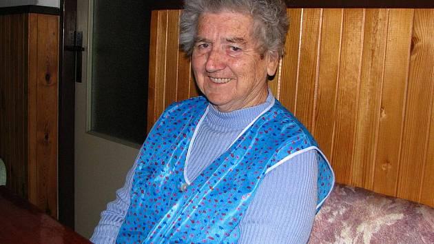 Marie Hodinová.