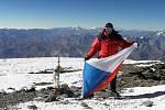 Ivo Grabmüller již zdolal nejvyšší hory všech kontinentů.