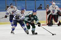 Hokejová Krajská liga: HC Vimperk - HC Milevsko 3:2.