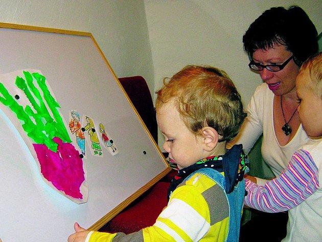 Rodiče a děti tvořili v muzeu.