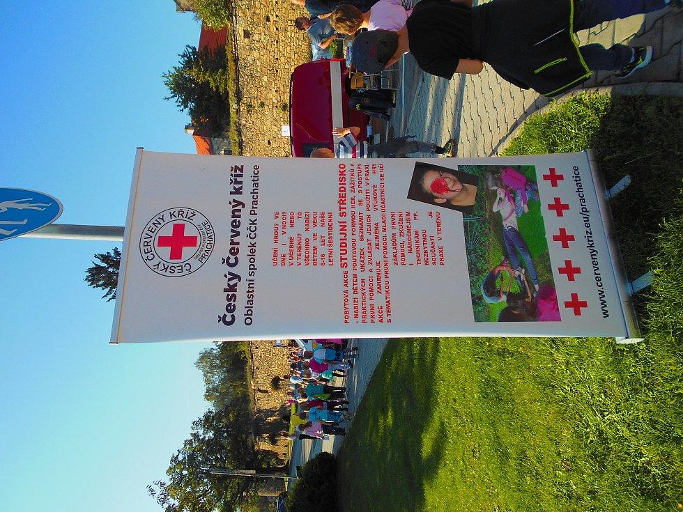 Dny první pomoci v Prachaticích a Vimperku.