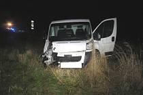 Nehoda U Stopařky v úterý 18. října 2016.