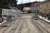 Oprava ulice 1. máje pokračuje další etapou.