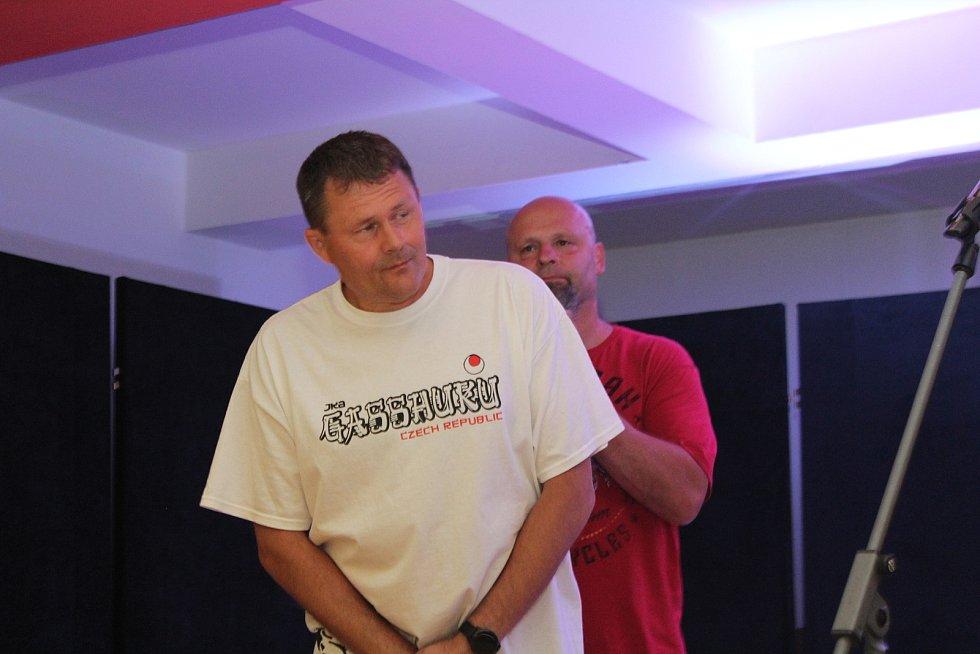 Zleva Petr Fiala, David Havlík a Richard Růžička.