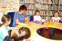 Program inspirovaný jarem si užily děti i jejich maminky v Městské knihovně v Prachaticích.