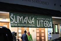 Slavnostní galavečer a vyhlášení cen Festivalu Šumava Litera v roce 2019.