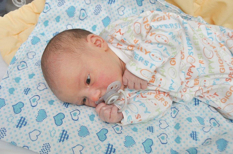 JAKUB FALÁŘ, VIMPERK. Narodil se v neděli 17. listopadu ve 2 hodiny a 9 minut ve strakonické porodnici. Vážil 3600 gramů. Má brášku Pavlíka (4 roky). Rodiče: Michaela a Pavel.