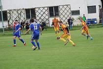 Fotbalová příprava: Čkyně - Junior Strakonice 2:4.