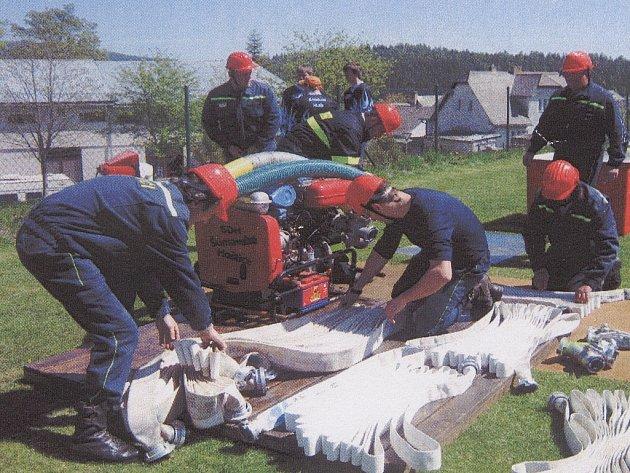 Drslavičtí hasiči.