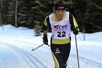 Adéla Nováková reprezentuje vimperské lyžování na MS juniorů v Lahti.