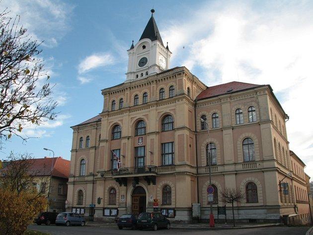 Netolická radnice. Ilustrační foto