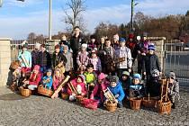 Ve Čkyni si děti Velikonoce užily při řehtání.