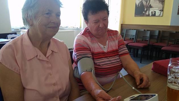 Český červený kříž Prachatice se také letos věnoval osvětě v domácí péči.