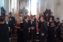 Klarinetový soubor Prachatice v minulých dnech absolvoval společné koncerty s japonským orchestrem Sapporo Wood Winds Orchestra Japan.