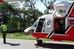 Tragedií skončila nehoda osobního vozidla na Vimpersku. Starší řidič na následky i přes veškerou pomoc zemřel na místě.
