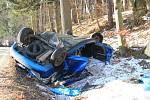 Tragická dopravní nehoda u Prachatic.