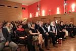 Slavnostní galavečer a vyhlášení cen Festivalu Šumava Litera ve Vimperku. Foto: Leoš Russ