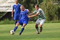 Fotbalová I.B třída: Vacov - Husinec 7:1.