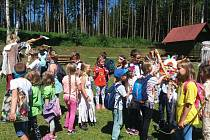 Další den, další dobrodružství na letním táboře u Lipna.
