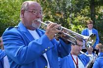Dechový orchestr potěšil posluchače v Bušanovicích