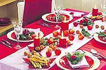 Štědrovečerní stůl.