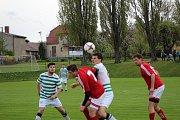 Fotbalová I.B třída: Vacov - Strunkovice 2:3.