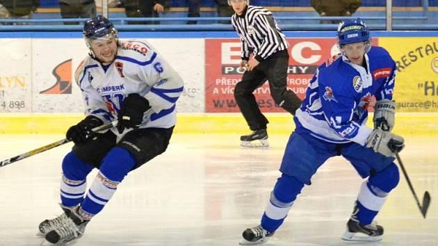 Vimperští hokejisté ještě boj o krajské play off nevzdávají.