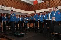 Na sobotní večer připravil Dechový orchestr Prachatice tradiční koncert, ke kterému si přizval i hosty.