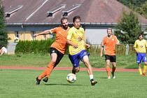 Fotbalová příprava: Vimperk - Prachatice B 3:2.