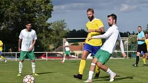 Fotbalová příprava: Jankov - Vimperk 6:0.