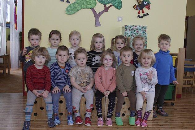 Mateřská škola vČeské ulici vPrachaticích - 1.třída.